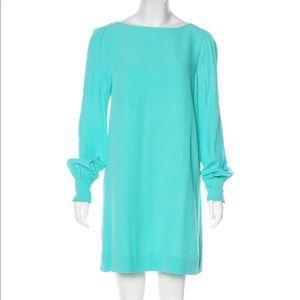 KATE SPADE Cordette Tiffany Blue Long Sleeve Dress